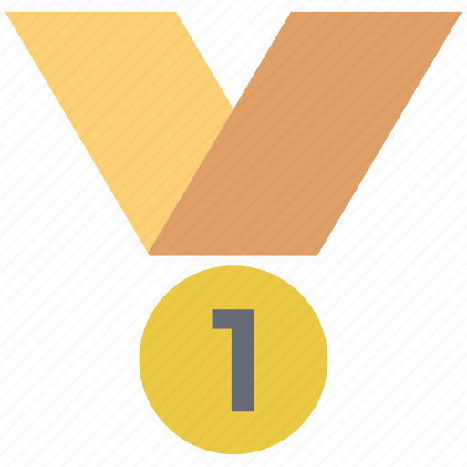 award, first place, first position, medal, position medal, winner, winning award icon