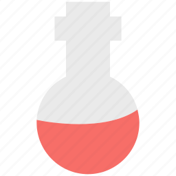 conical flask, lab accessories, lab experiment, lab flask, volumetric flask icon