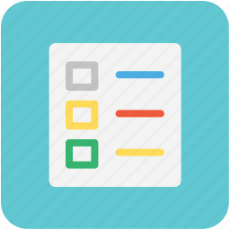 agenda, checklist, plan list, schedule, to do icon