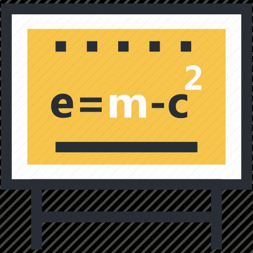einstein formula, emc2 formula, physical formula, scientific formula, theory of relativity icon