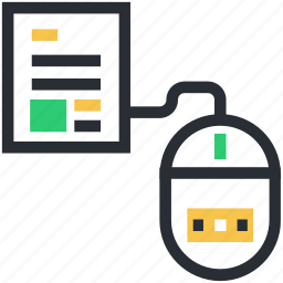 computer mouse, e docs, online book, online docs, sky docs icon