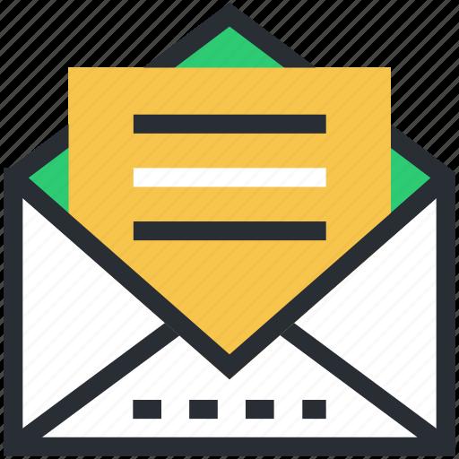 email, envelope, inbox, letter, sent email icon