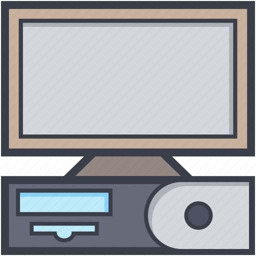 computer, desktop, home computer, pc, personal computer icon