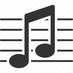 education, music, musical note, school, study icon