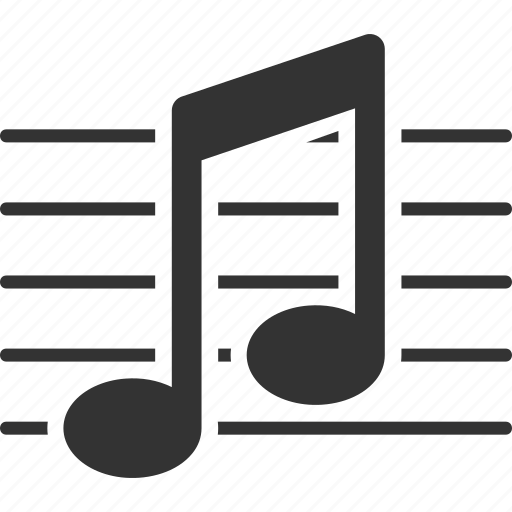 music, musical note, study icon