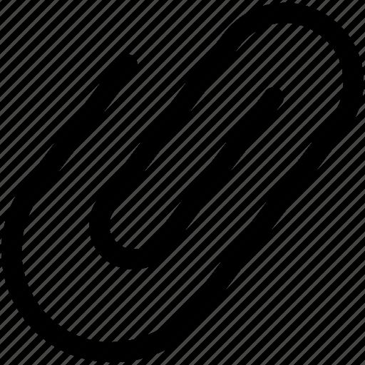 attachment, binder, clinch, paper clip, stationery icon