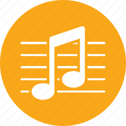 education, music, musical note icon