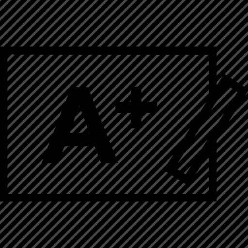 a, board, education, learn, learning, plus, school icon