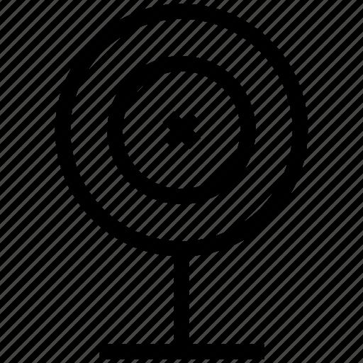 archery board, dartboard, shooting board, target, target board icon