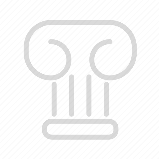 bracket, bulding, column, pilar icon