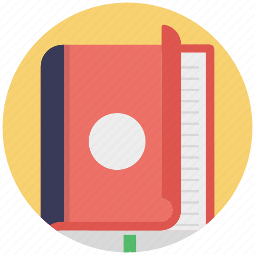 copy, daybook, diary, journal, notebook icon