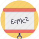 einstein formula, emc2, formula, physics, scientific formula icon