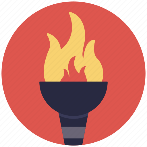 olympic fire, olympic flame, olympic torch, olympics games, torch fire icon