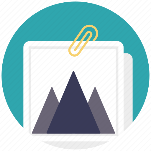 file annex, file attachment, image attachment, jpg file, printout attachment icon