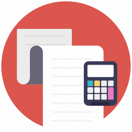 accounting, calculation, calculator, estimate, maths icon