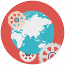 discovery, global development, global options, global technology, setting parameters icon