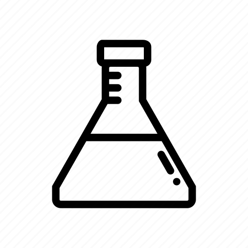 beaker, experiment, flask, science, scientific method icon