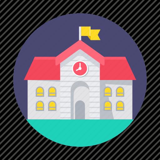 building, education, school, university icon