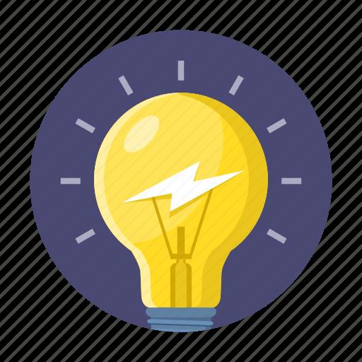 brian, bulb, education, idea, study, thinking icon