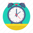 alarm, education, study, clock, time icon