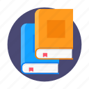 book, books, knowledge, read, reading, study icon