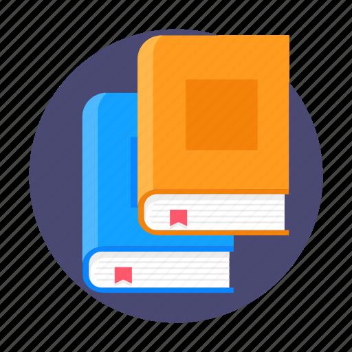 book, books, knowledge, read, reading, study icon