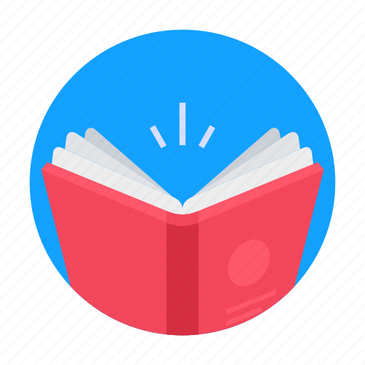 book, education, knowledge, page, read, reading, study icon