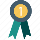 achievement, award ribbon, championship, medal, prize, reward ribbon, ribbon badge icon