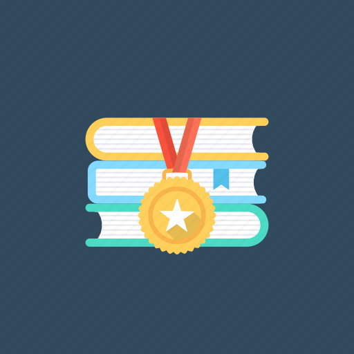 academics awards, awards and gifts, books prizes., education gifts, performance awards icon