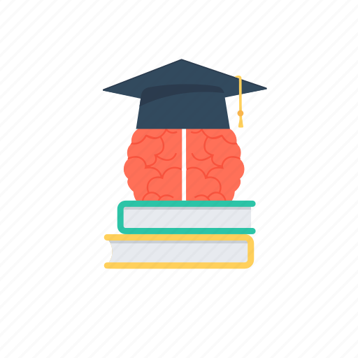 academic success, develop insight, knowledge ideas, learner., learning and gaining icon