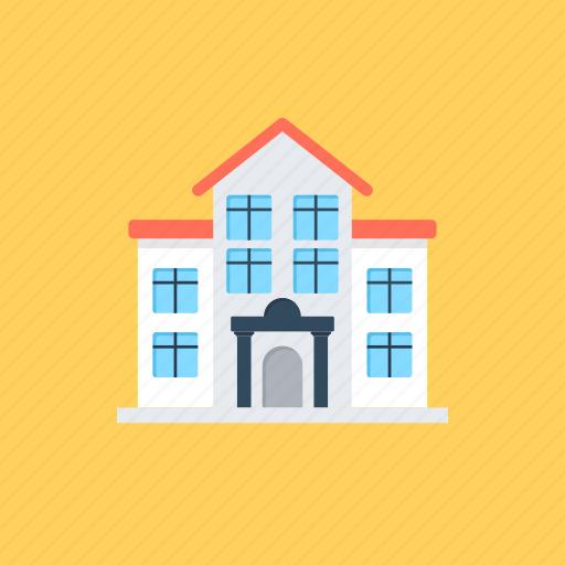 building, college, educational hub, institute, university icon