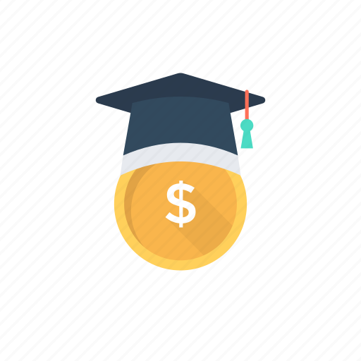 concept of finance, finance degree., finance student, financial education, learning finance icon