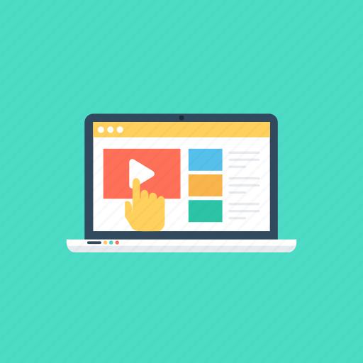 helpful online services., internet tutorials, online guide, web tutorial, word tutorials icon