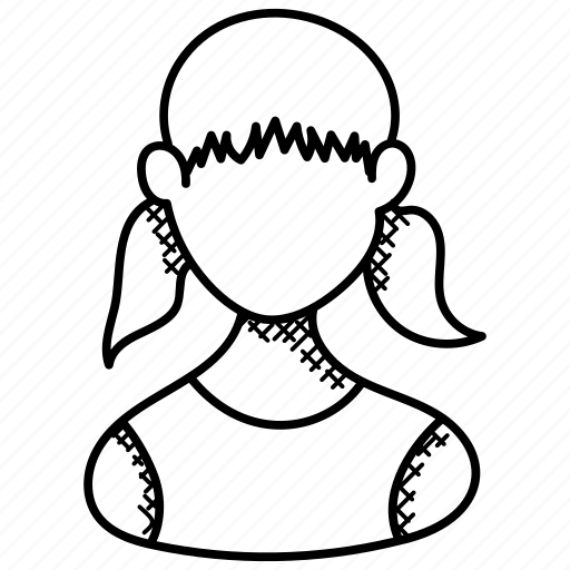 Child, daughter, girl, kid, schoolgirl icon - Download on Iconfinder