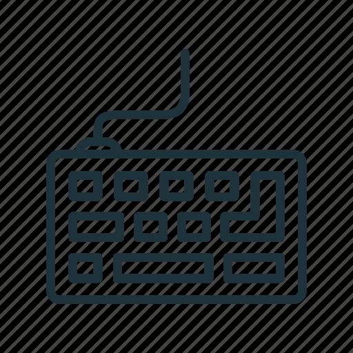 computer, hardware, keyboard, type, typing icon