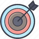 aiming, challenge, dart board target, dartboard, game, target, throw icon
