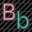 alphabets writing, english class, english writing, handwriting, initial english icon