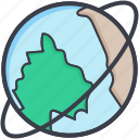 earth globe, planet, round the earth, round the world, world icon