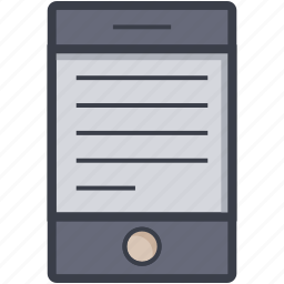 elearning, online document, online education, online learning, tablet screen icon