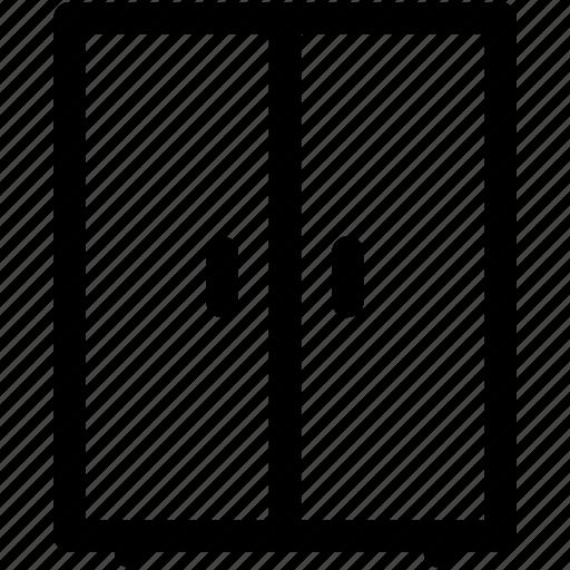 almirah, bureau, closet, cupboard, wardrobe icon
