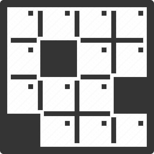 crossword, game, logic game icon