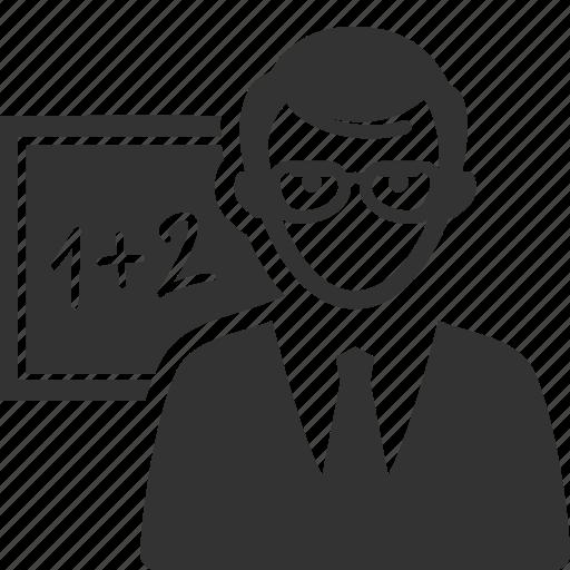 education, math, school, student, teacher icon