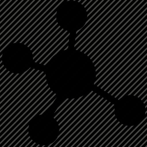 atom, chemistry, education, electron, molecule, science icon
