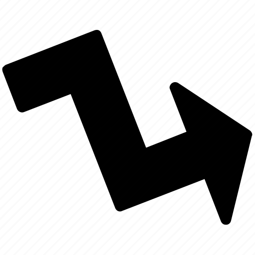 arrow, directional arrow, graphic arrow, indication arrow, navigation arrow icon