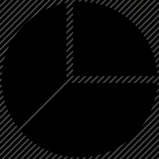 analytics, diagram, graph, pie, pie chart, pie graph icon