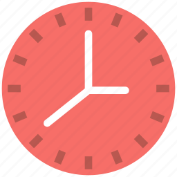 clock, time, timepiece, timer, wall clock, watch icon