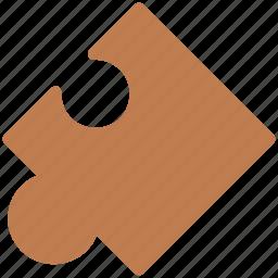 creativity, entertainment, jigsaw, jigsaw piece, plugin, puzzle piece icon