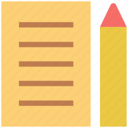 jotter, notepad, paper, pen, sheet, steno pad, write, writing icon