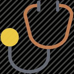 doctor tool, healthcare, medical equipment, medical exam, phonendoscope, stethoscope icon