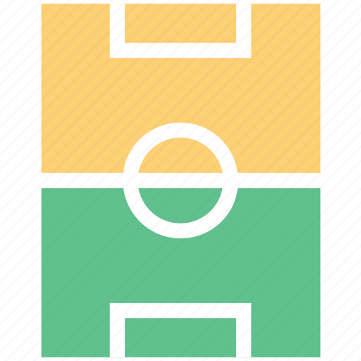 football ground, playground, playing area, soccer field, sports ground icon